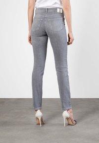 MAC Jeans - ANGELA - Slim fit jeans - grey - 1