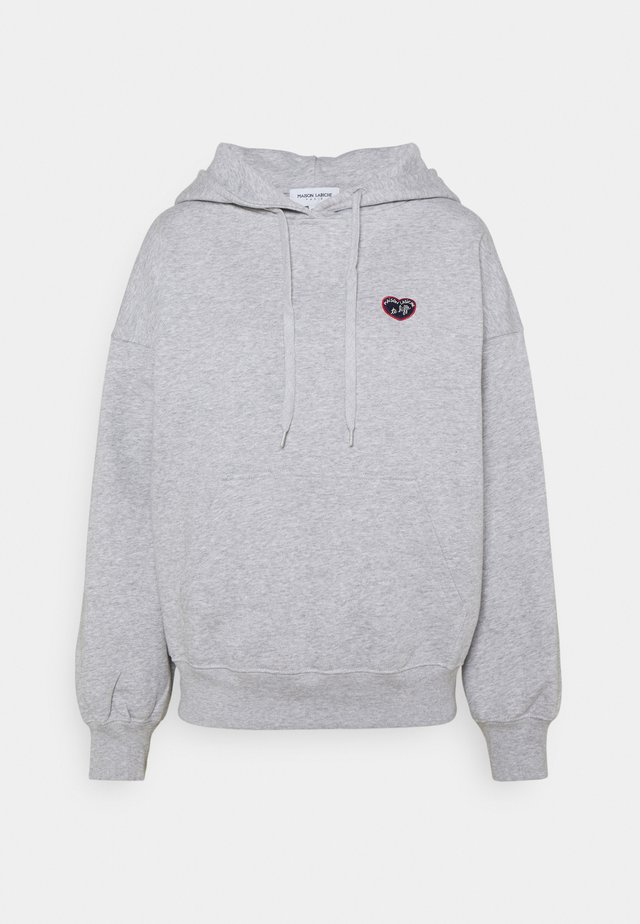 HOODIE PATCH - Mikina - light heather grey