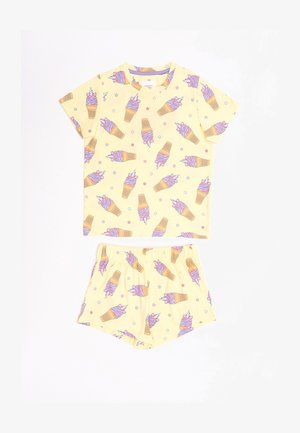 NYC ICE CREAM UNICORN - Pyjama set - yellow