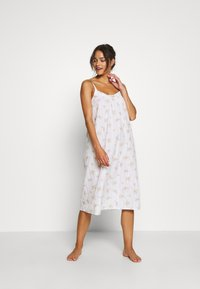 Marks & Spencer London - NIGHTDRESS DITSY - Nattskjorte - white - 1