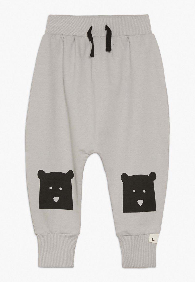 Turtledove - BEAR KNEE HAREMS - Pantalon de survêtement - grey