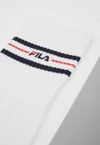 Fila - LIFESTYLE PLAIN SOCKS 6 PACK - Socks - white - 2