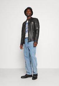Freaky Nation - CRUISE ACTION - Leather jacket - black - 1