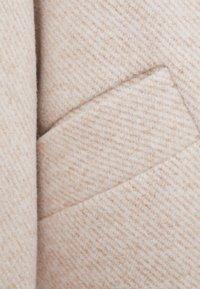 Bershka - Short coat - beige - 5