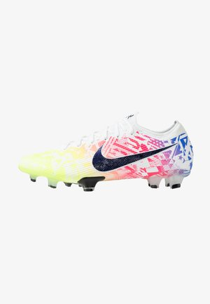 MERCURIAL VAPOR 13 ELITE NEYMAR FG - Moulded stud football boots - white/black/racer blue/volt