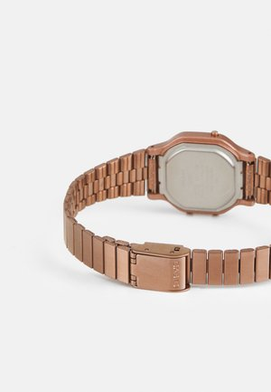 Digital watch - rosegold-coloured