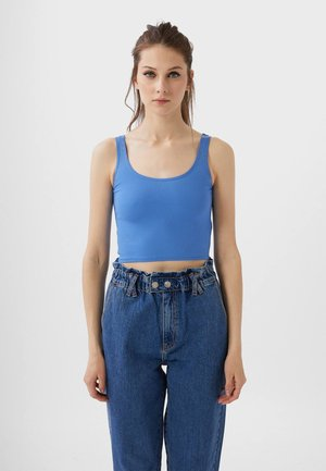 CROPPED - Top - blue