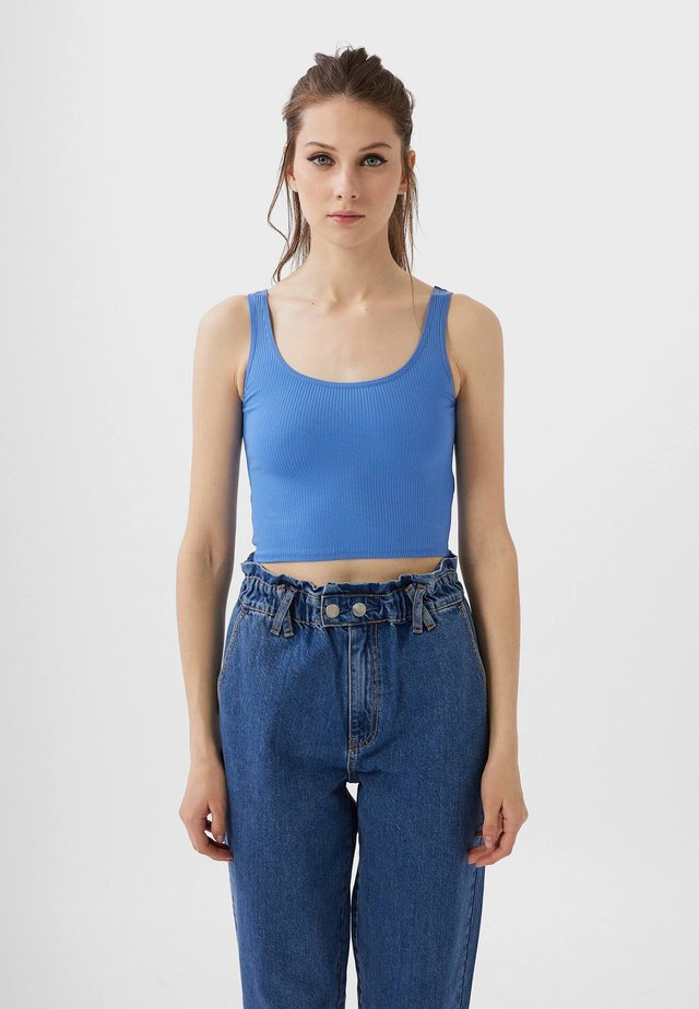 CROPPED - Toppe - blue