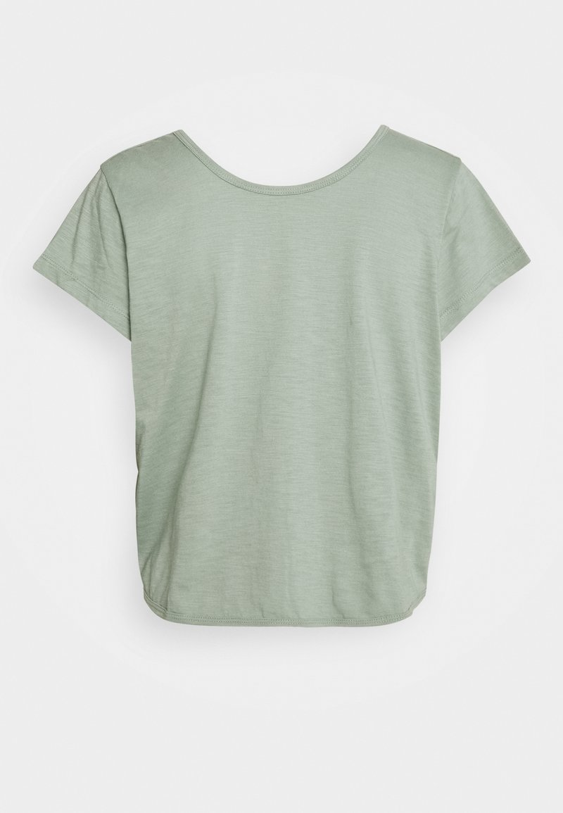 Cotton On Body - LIFESTYLE TWIST BACK TEE - T-shirts med print - washed aloe