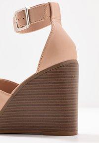 Madden Girl - GARLAND - High heeled sandals - dark nude - 2