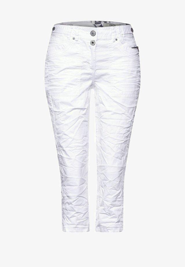 Jeansshorts - weiß