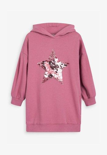 LONGLINE - Hoodie - pink