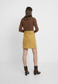 edc by Esprit - SKIRT - A-line skirt - amber yellow - 2