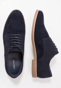 Pier One - Smart lace-ups - dark blue - 1