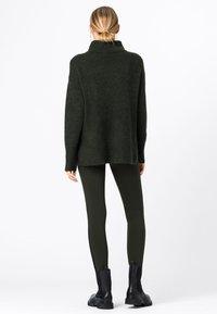 HALLHUBER - Leggings - Trousers - olijfgroen - 1