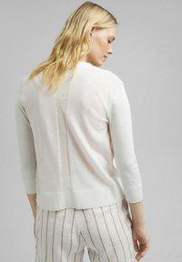 Esprit - CARDIGAN - Cardigan - off white - 6
