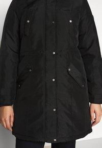 Vero Moda Curve - VMTROK - Winter coat - black - 6