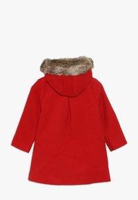 mothercare - BABY FLOW BLEND COAT WITH HOOD - Vinterkappa /-rock - red - 1
