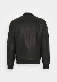 Abercrombie & Fitch - Faux leather jacket - black - 1