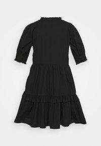 J.CREW PETITE - KRISTY DRESS SOLID - Korte jurk - black - 1