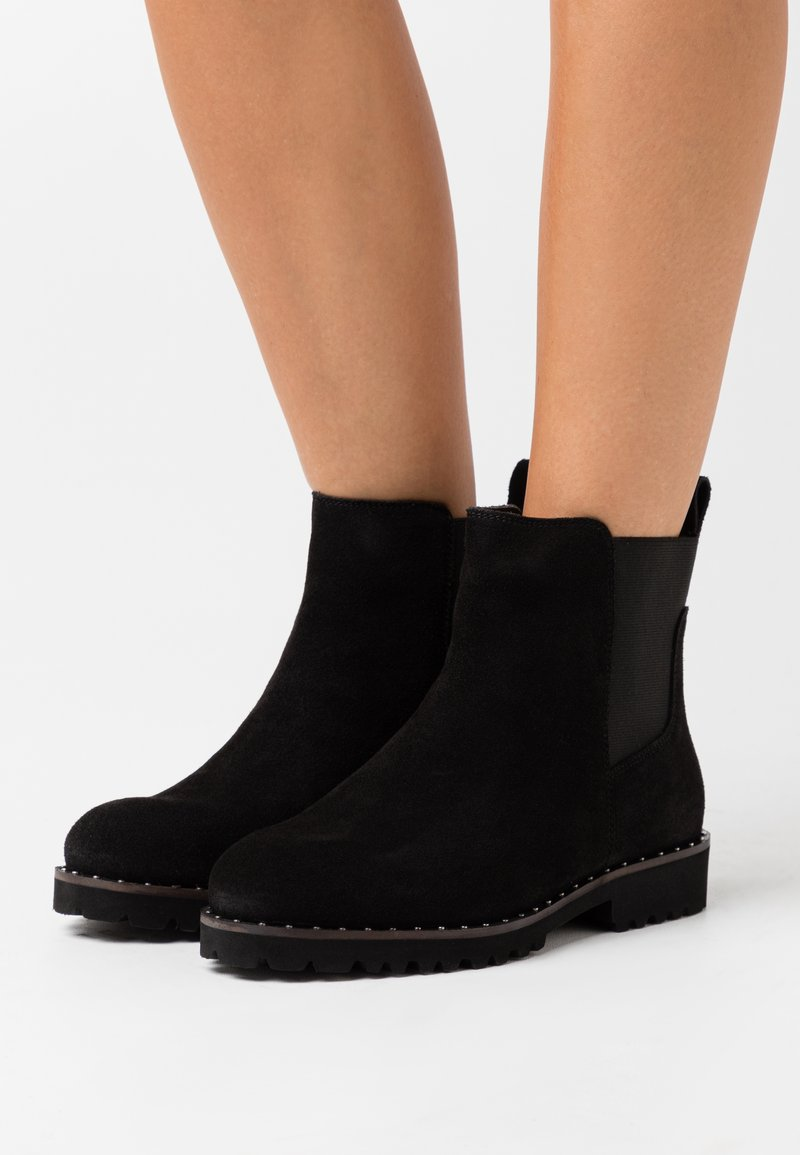 Simply Be - WIDE FIT CALLA - Classic ankle boots - black