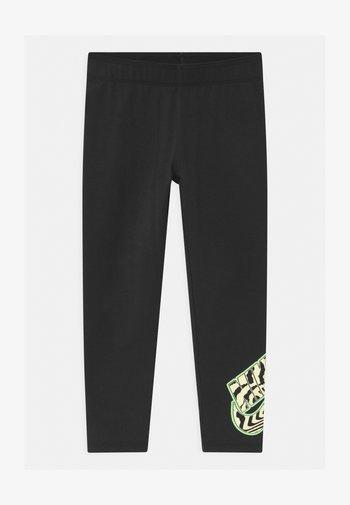 PRINTED - Leggings - Trousers - black