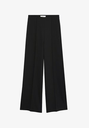JUSTOC - Trousers - zwart