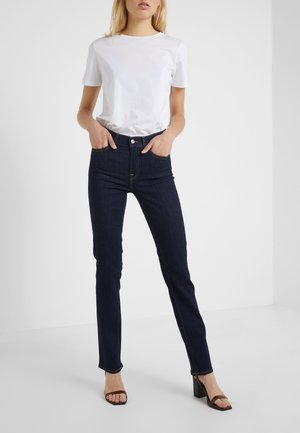BAIR CLEAN RINSE - Straight leg jeans - dark-blue denim