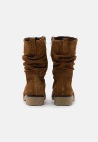 Gabor Comfort - Vysoká obuv - cognac - 3
