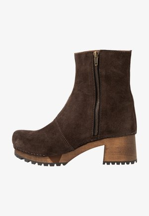 HENNA BLOCK FLEX BOOT - Platform ankle boots - coffee