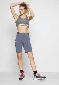 Salewa - PEDROC SHORTS - Sports shorts - ombre blue - 1