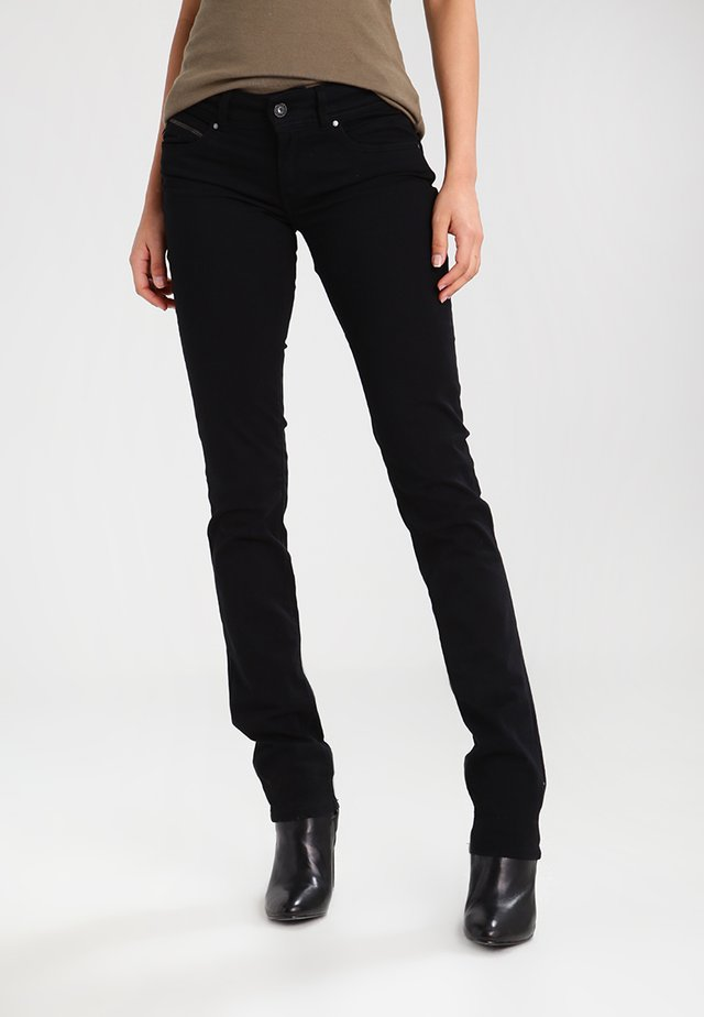 NEW BROOKE - Jeansy Slim Fit - black