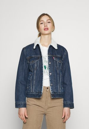 TRUCKER - Veste en jean - rough and tumble