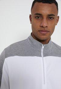 adidas Golf - ZIP LIGHTWEIGHT - T-shirt à manches longues - white - 5