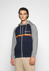 Quiksilver - EVERYDAY SCREEN ZIP - Zip-up hoodie - navy blazer - 0