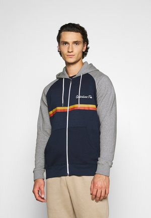 EVERYDAY SCREEN ZIP - Zip-up hoodie - navy blazer