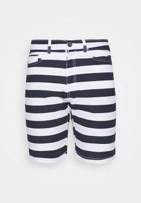 Newport Bay Sailing Club - STRIPE - Shorts - main white/navy - 3