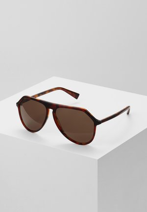 Sunglasses - dark red havana