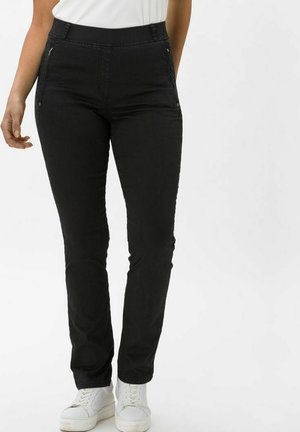 STYLE LAVINA ZIP - Trousers - anthra