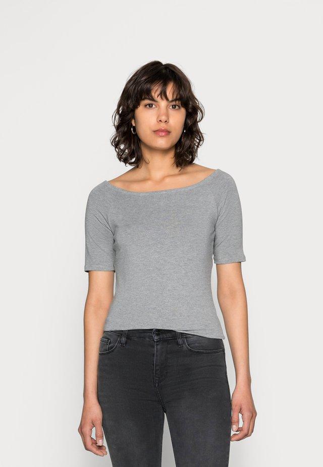 TANSY  - T-shirt - bas - grey melange