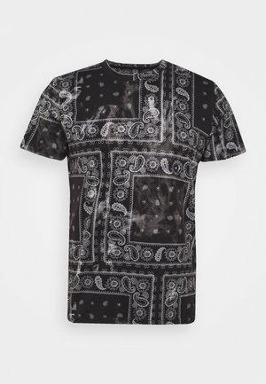 BAND TEE - T-shirt imprimé - black