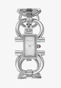 Salvatore Ferragamo - DOUBLE GANCINI WOMEN BRACELET - Uhr - silver-coloured - 1
