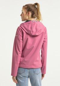Schmuddelwedda - Outdoorová bunda - pink - 2