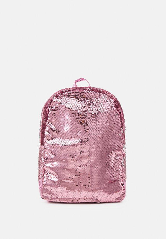BAG SET - Rucksack - pink peacock