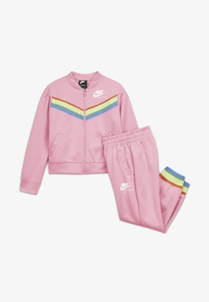 HERITAGE - Tracksuit - pink/white