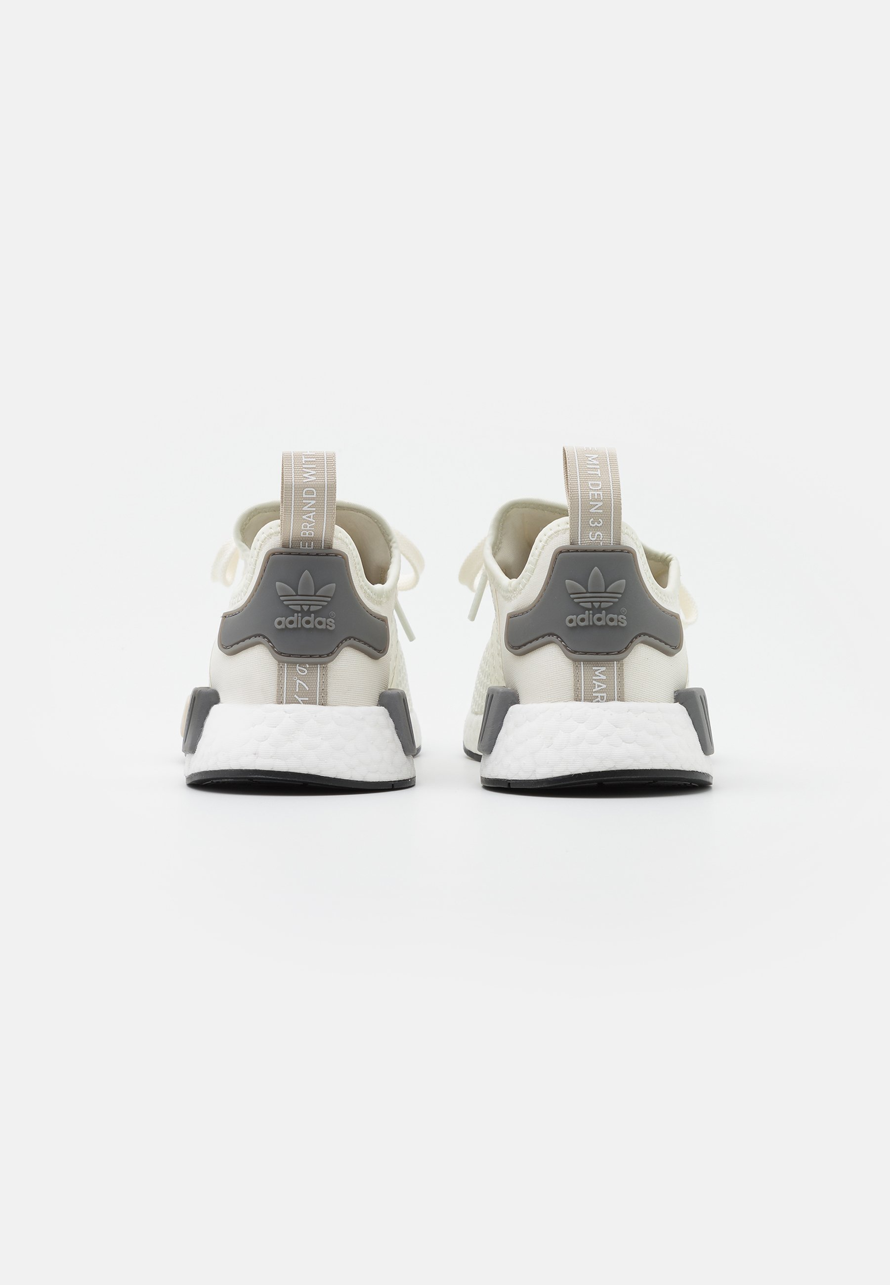 Adidas Originals Nmd_r1 Boost Sports Inspired Shoes - Joggesko Offwhite/core Brown/grey Three/offwhite