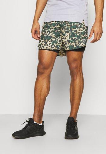 PRIMEBLUE - Pantalón corto de deporte - black/multicolor/hazy beige
