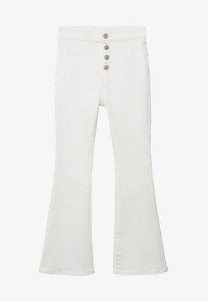JEGGINGT - Flared Jeans - wit