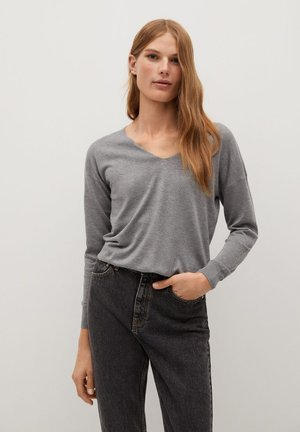 HARAMON - Pullover - středně šedá vigore