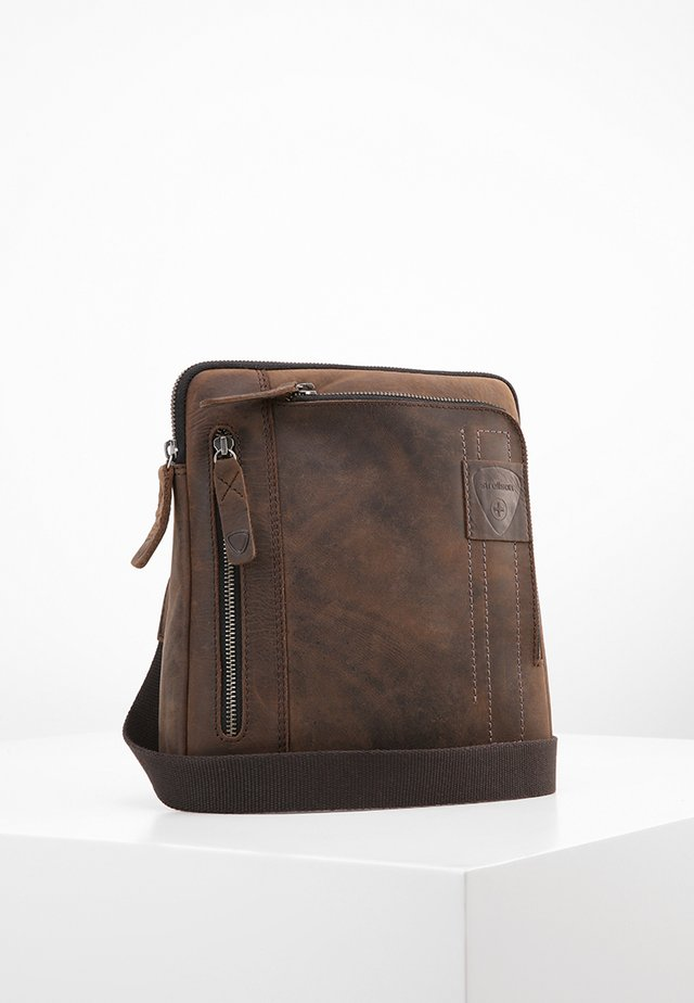 RICHMOND - Borsa a tracolla - darkbrown